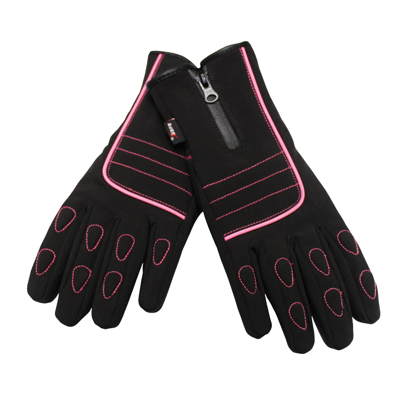 Biker Pro Blush Ladies Riding Gloves Image