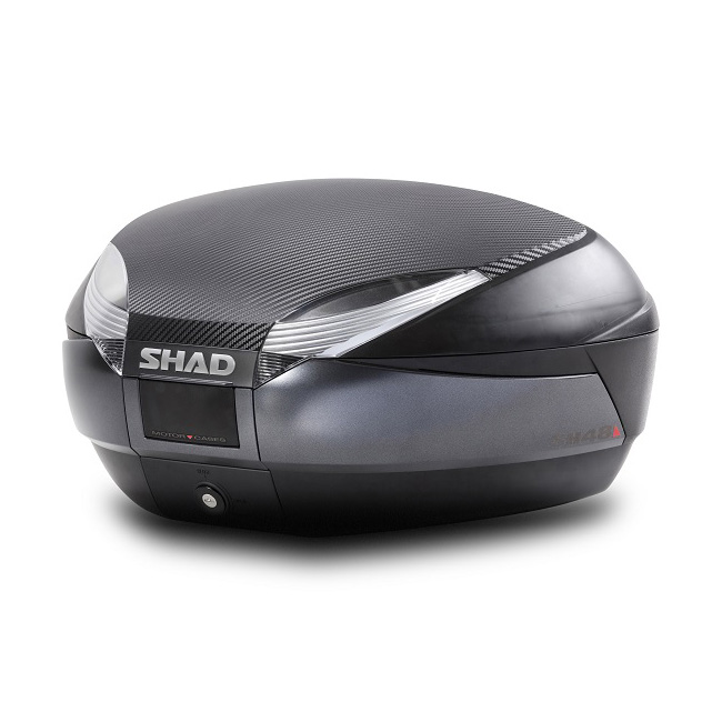 Shad SH48 Carbon Cover Top Box (back-rest included) Image