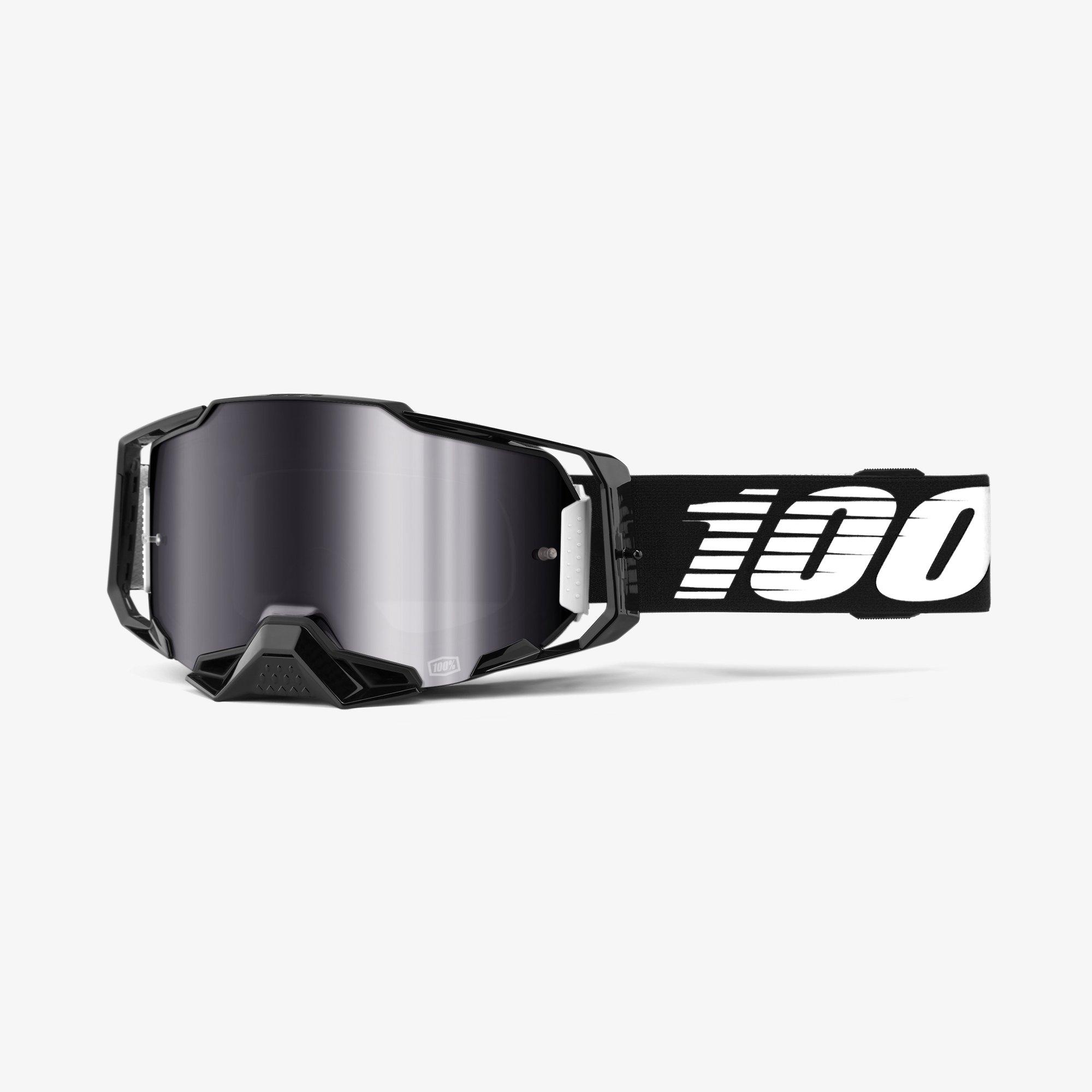 100% Goggle Armega Black Image