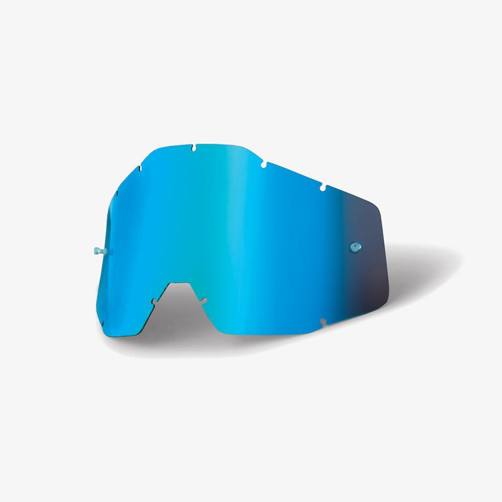 100% Lens Racecraft/Accuri - Blue Mirror Image