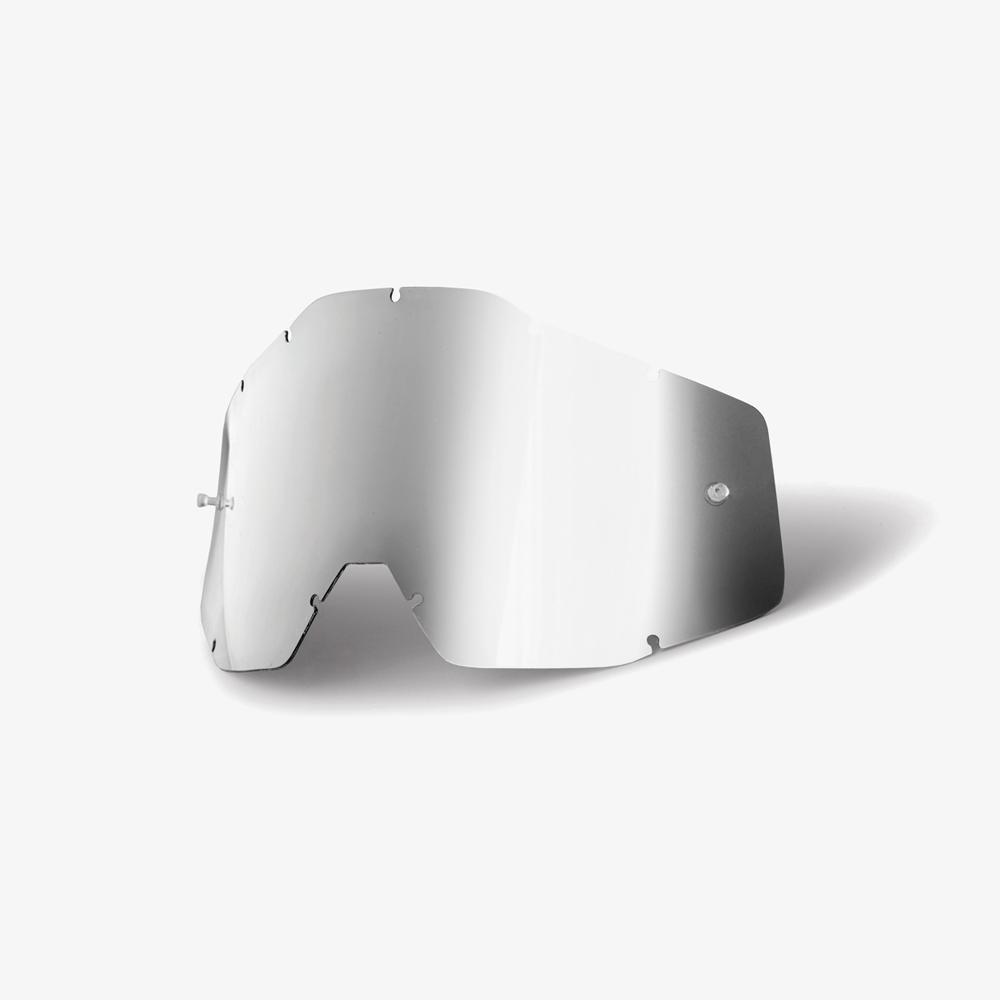 100% Lens Racecraft/Accuri - Silver Mirror Image