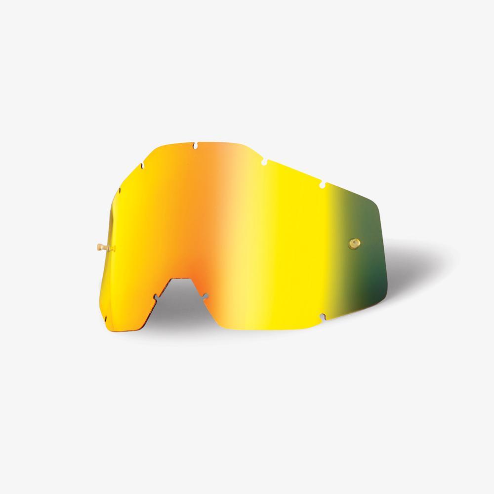 100% Lens Racecraft/Accuri - Gold Mirror Image