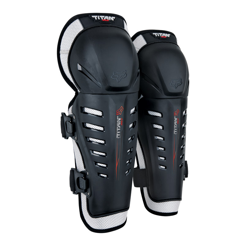 Fox Titan Race Youth Knee guards Image