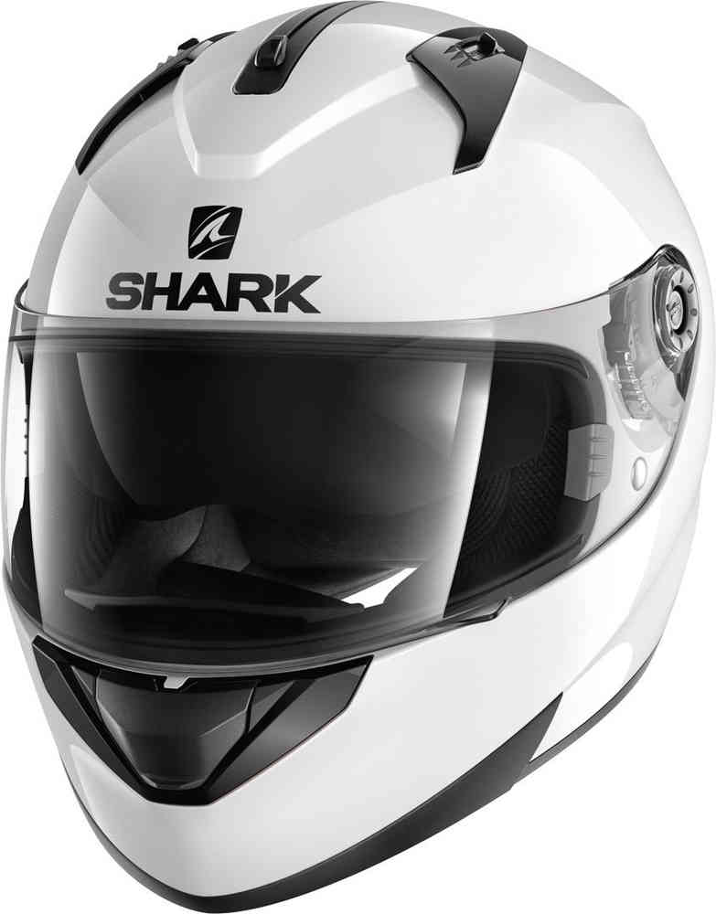 Shark Ridill Blank Helmet White Image
