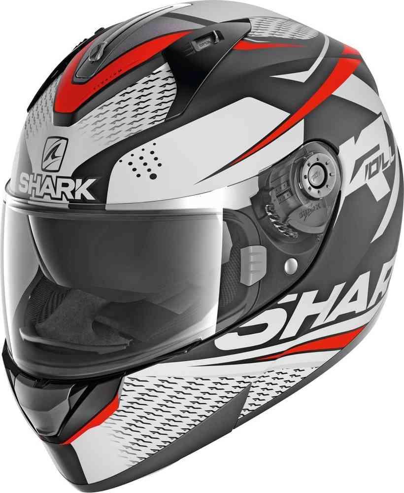 Shark Ridill Stratom Helmet Red/White/Black Image