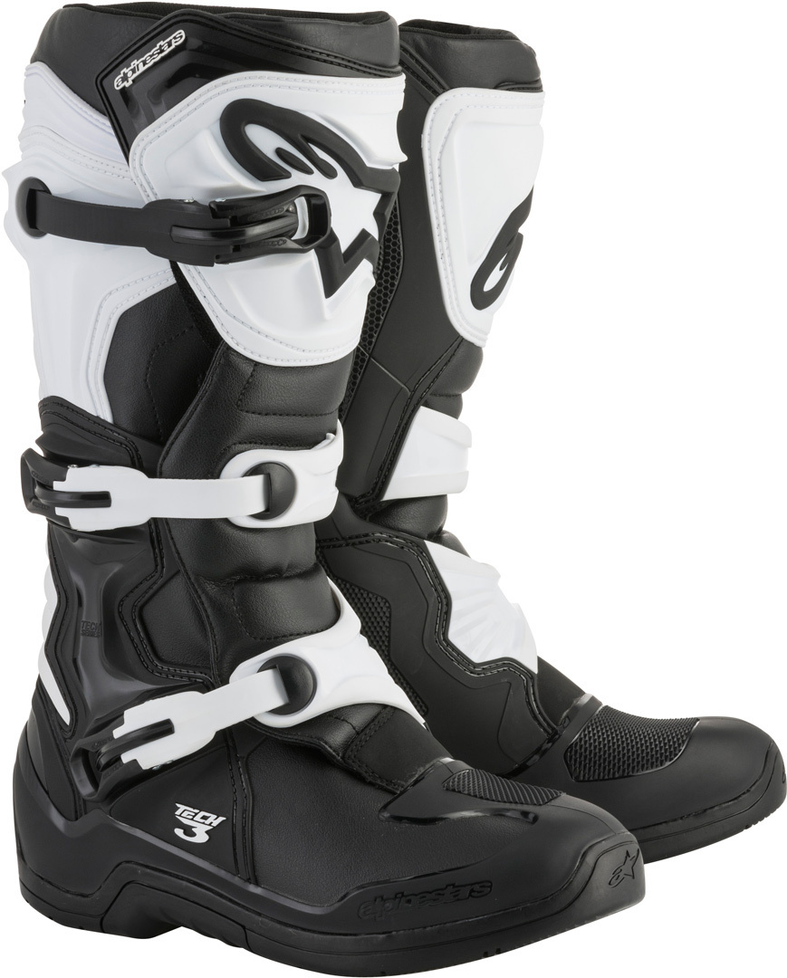Alpinestars Tech 3 Boot Black/White Image