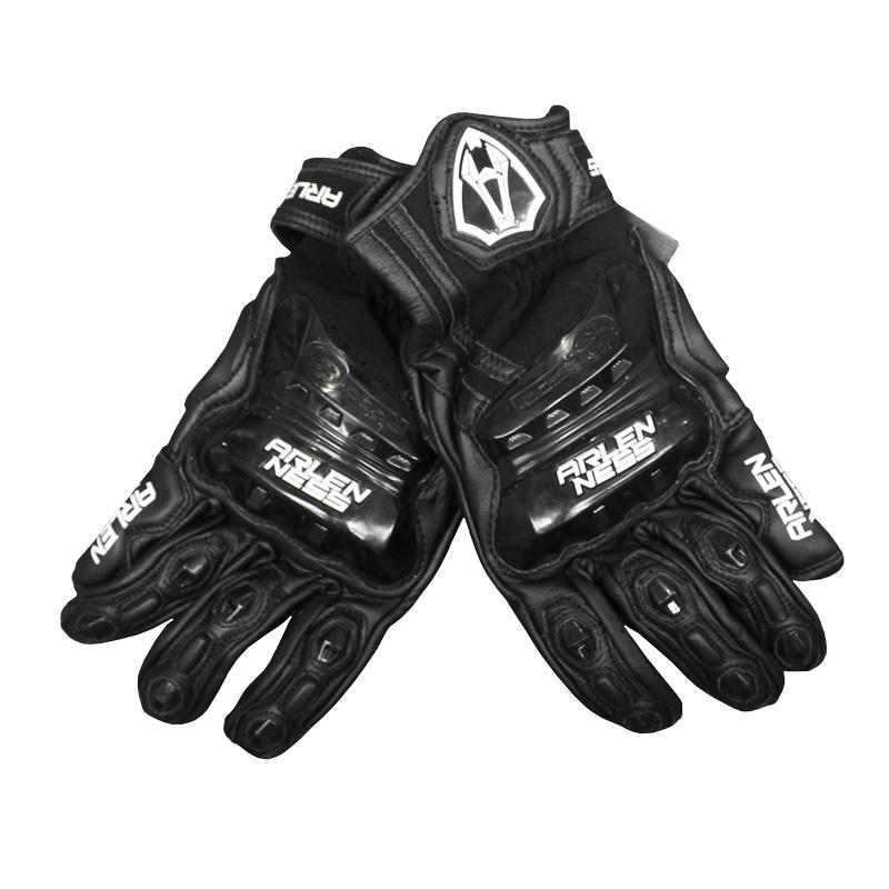 Arlen Ness Short Leather Race Gloves Image