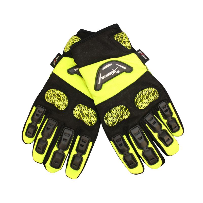 Biker Pro - High Vis Riding Gloves Image