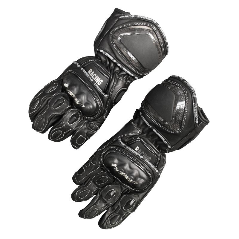 Habiba - Mens Long Leather Gloves Image