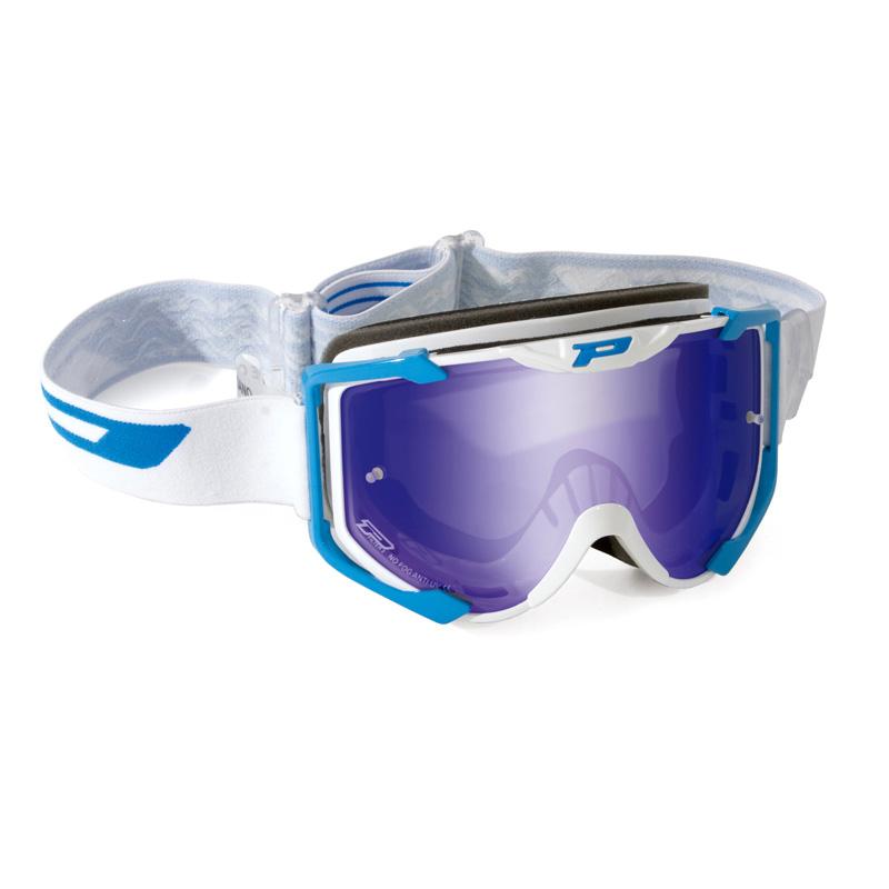 Progrip 3404 Enduro Goggles - Anti-Fog Mirror Lens plus Free Clear Lens Image