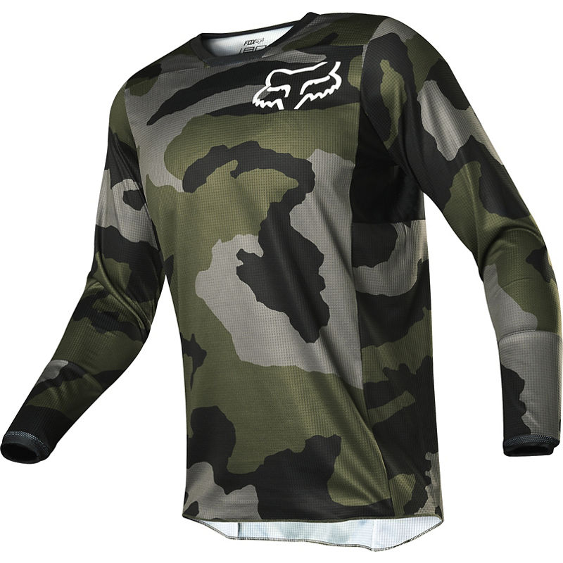 Fox 180 PRZM Youth Camo Special Edition Jersey Image