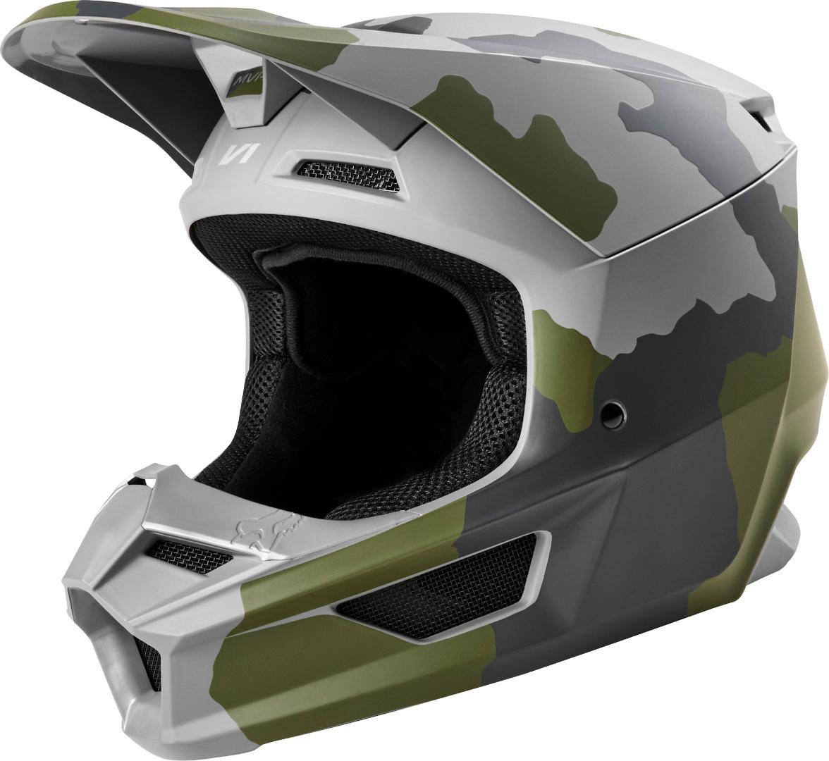FOX V1 PRZM Camo Helmet Image