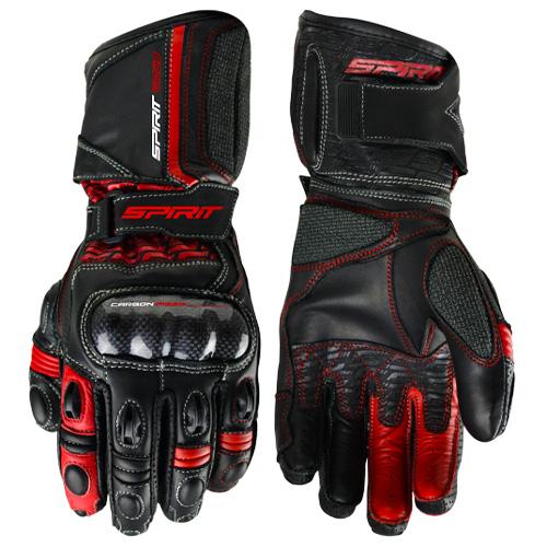 Spirit - Virus Red Race Gloves Image