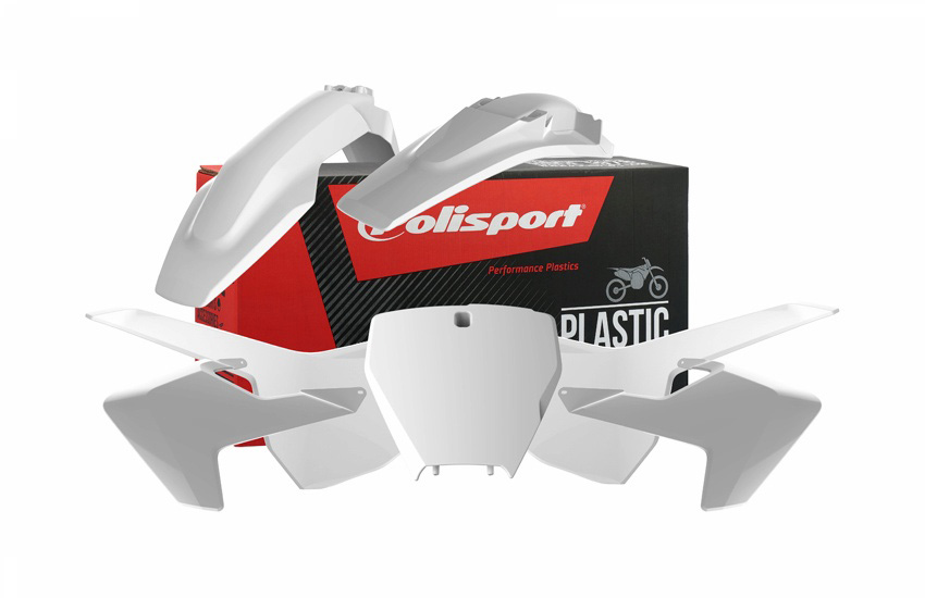 Polisport - Complete 2019 Husqvarna MX Plastic Kit (also available in black) Image