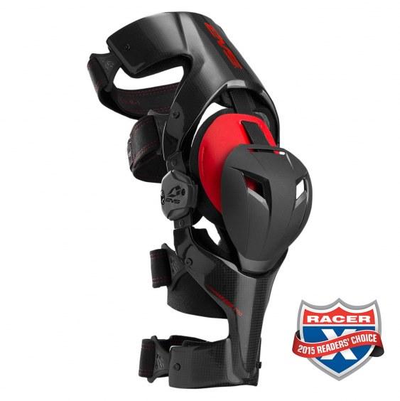 EVS Web Pro Carbon Knee Brace Pair Image