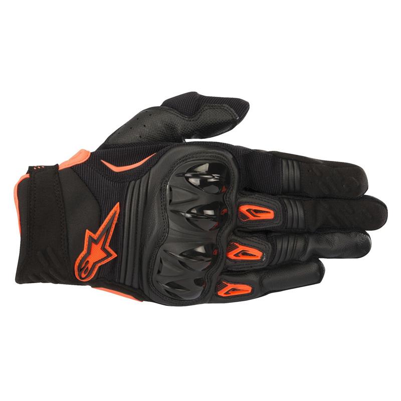 Alpinestars Megawatt Gloves - Black/Orange Image