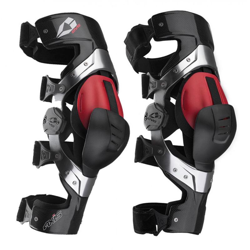 EVS Axis Pro Carbon Knee Brace Pair Image