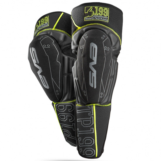 EVS Travis Pastrana Youth Knee Pads Image