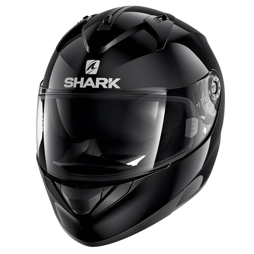 Shark Ridill Blank Helmet Black Image