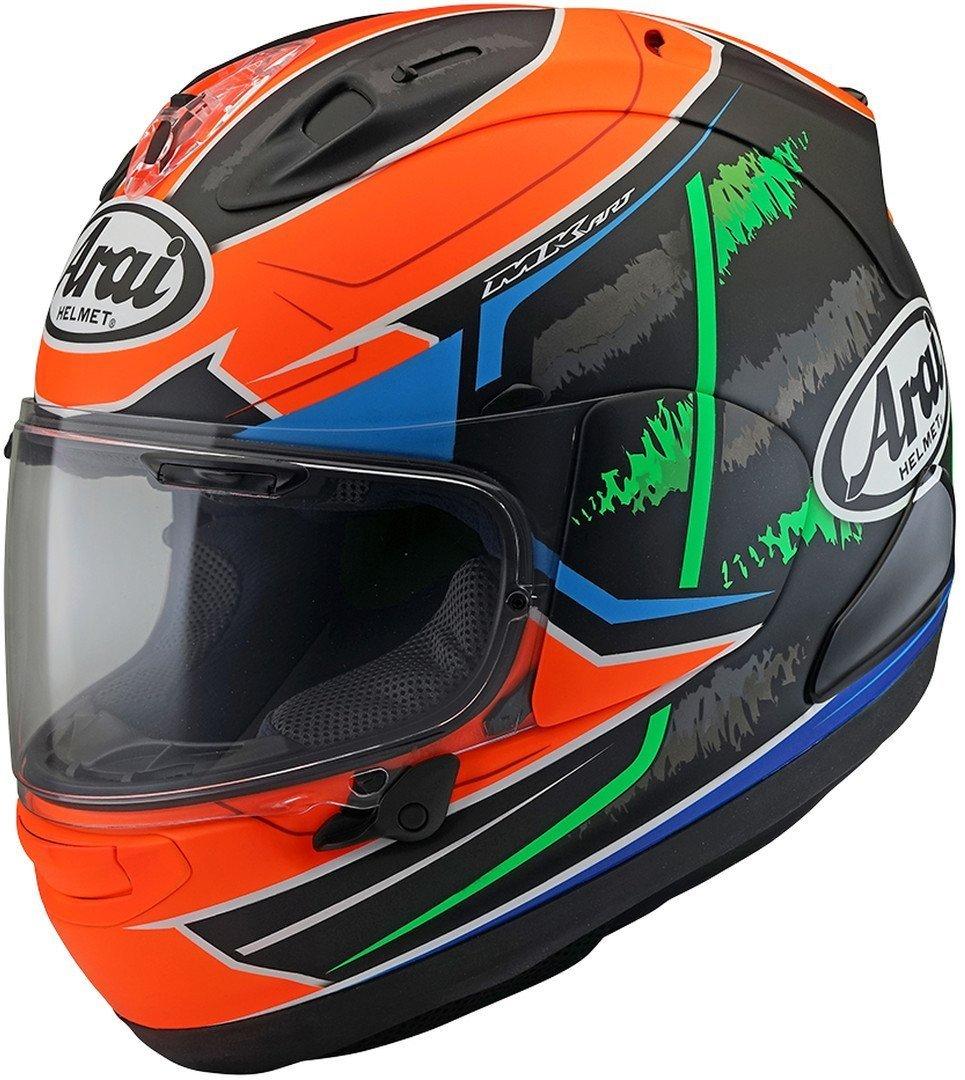 Arai RX-7V Van Der Mark Helmet Image