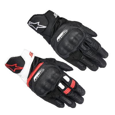 Alpinestar SP5 Leather Gloves Image