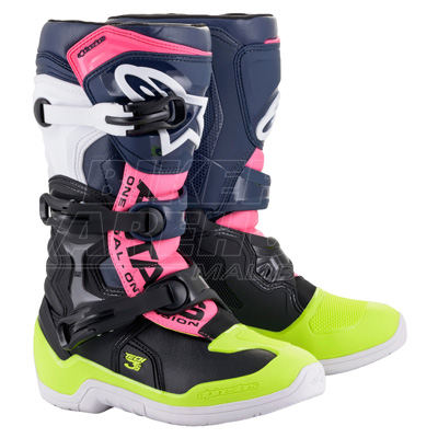 Alpinestars Tech 3S Youth Motocross Boots Image