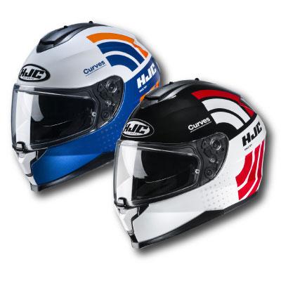 HJC C70 Curves Helmet Image