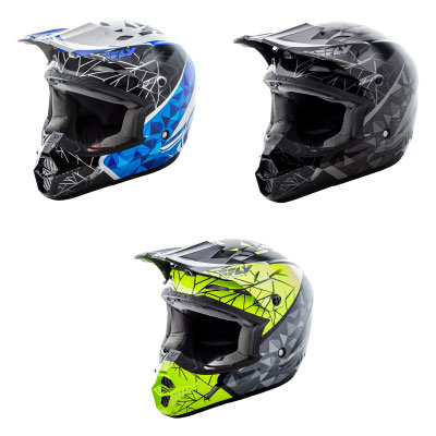 Fly Kinetic Crux Youth Helmet Image