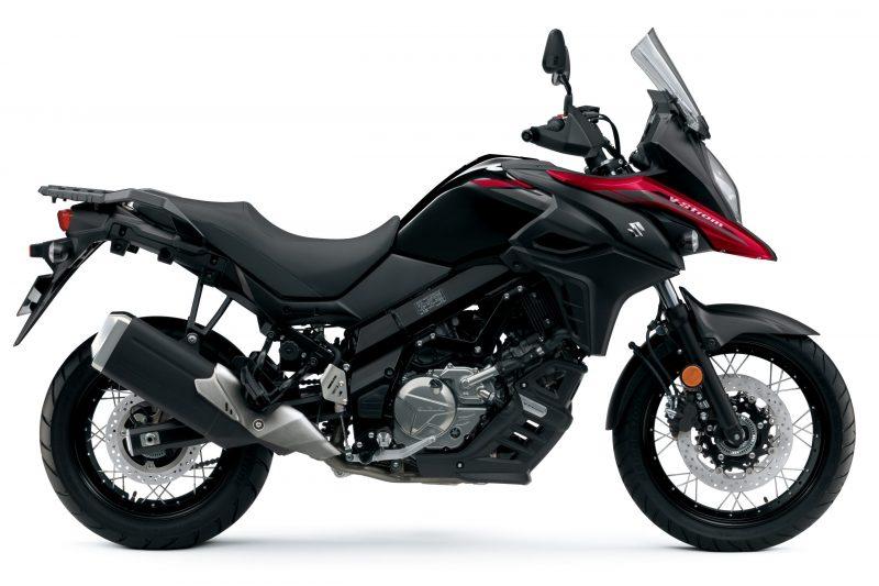 Suzuki DL650 Red_Black