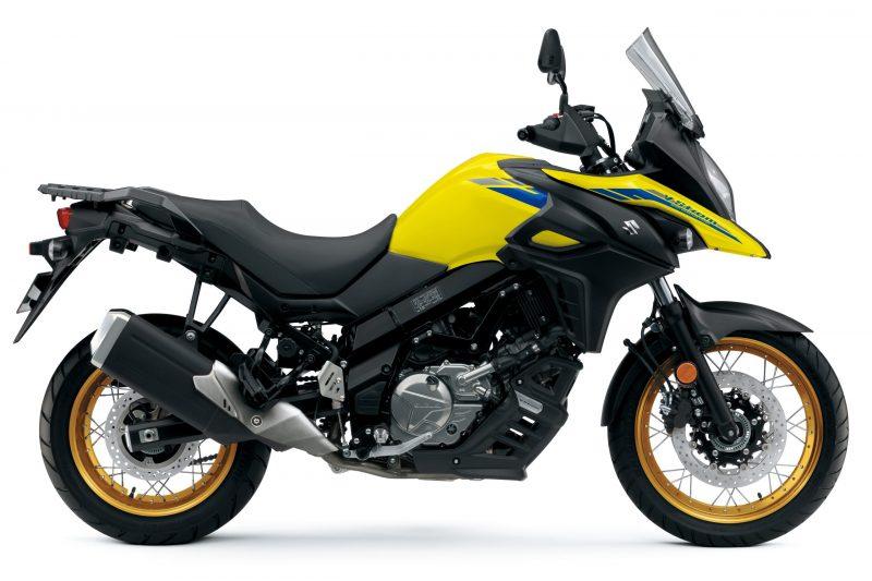 Suzuki DL650 Yellow