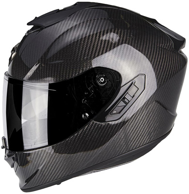 Scorpion EXO 1400 Air Carbon Helmet Black (Matt / Gloss) Image