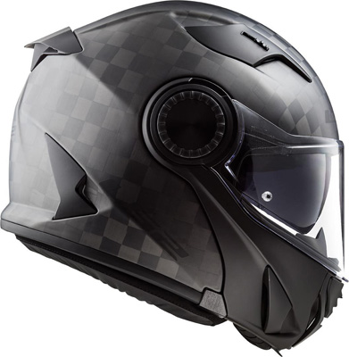 LS2 FF313 Vortex Matt Carbon Helmet Image
