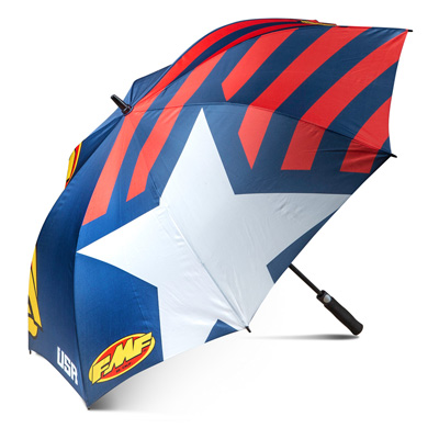 FMF Umbrella Red, Blue and White Image
