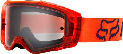 FOX Vue Mach One Tear-Off Motocross Goggles Image