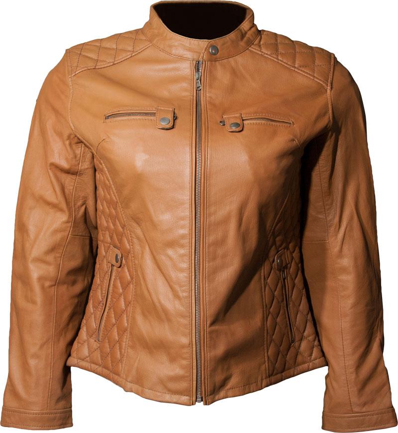 Ladies Leather Riding Jacket Image