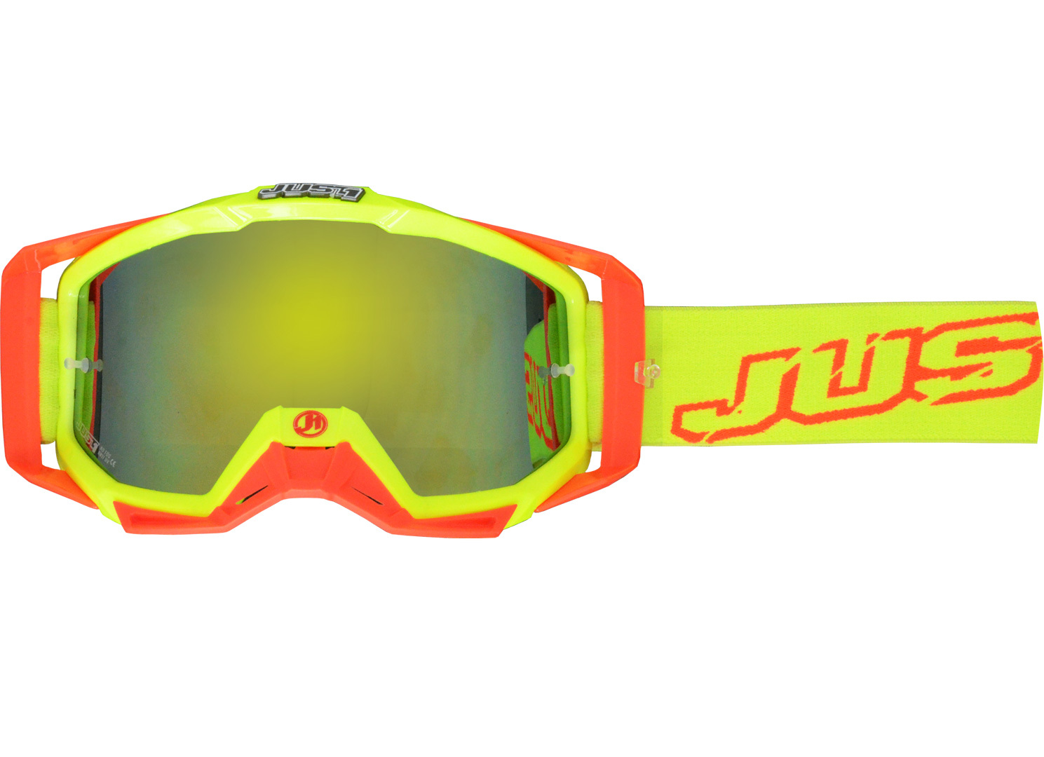 Just1 Iris Goggle Fluo/Yellow Image