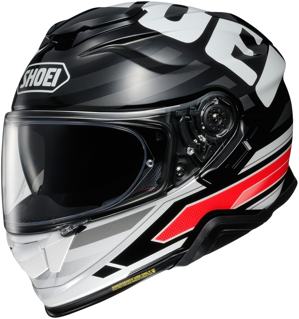 Shoei GT-Air 2 Insignia Black/White/Red Image