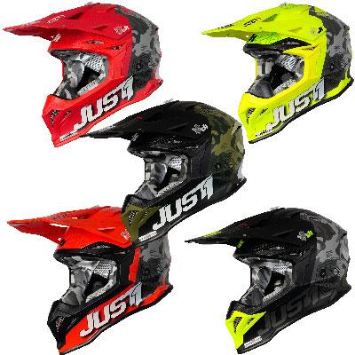 Just1 J39 Kinetic Motocross Helmet Image