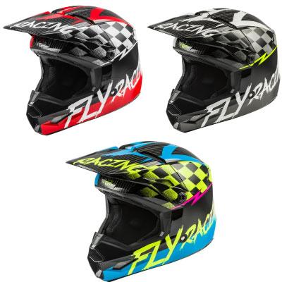 Fly Kinetic Sketch Youth Helmet Image