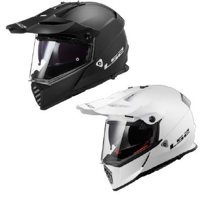 LS2 MX436 Pioneer Evo Solid Adventure Helmet Image