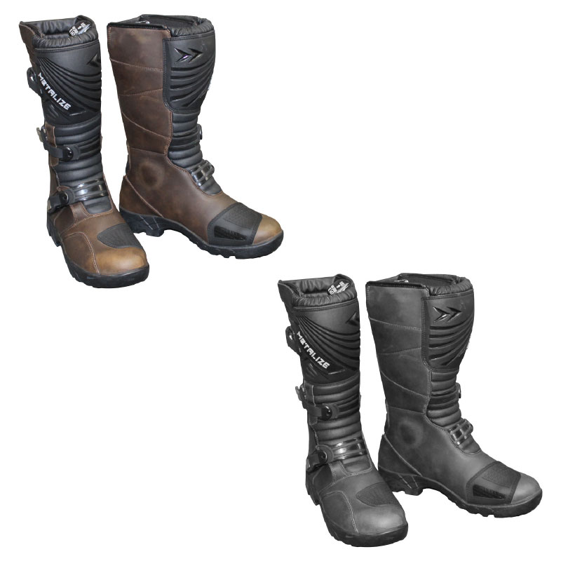 Metalize Explore Tech Long Boots (Black or Brown) Image