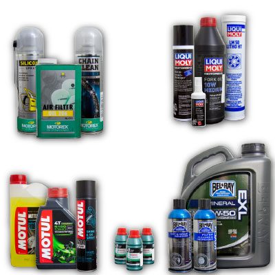 oil lubrication and cleaner category image