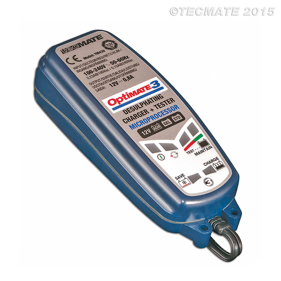 Optimate 3 Battery Charger 12V Image