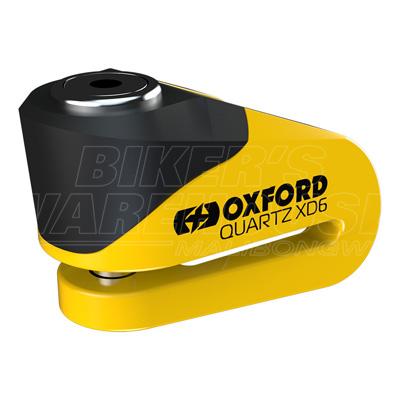 Oxford Quartz XD6 Disc Lock Yellow/Black Image
