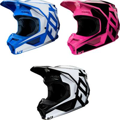 FOX V1 Prix Motocross Helmet Image