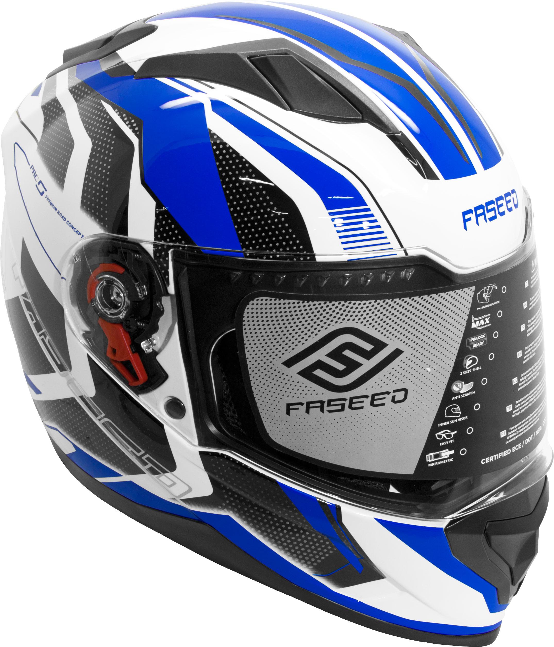 Faseed FS 819 Helmet Blue Image
