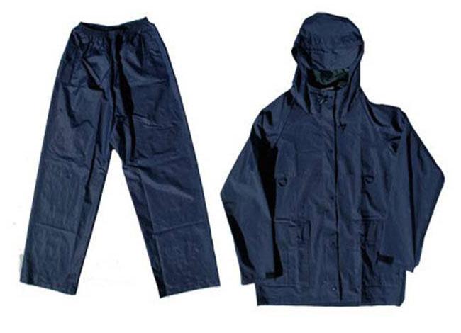 Rain Suit Two Piece Navy Image