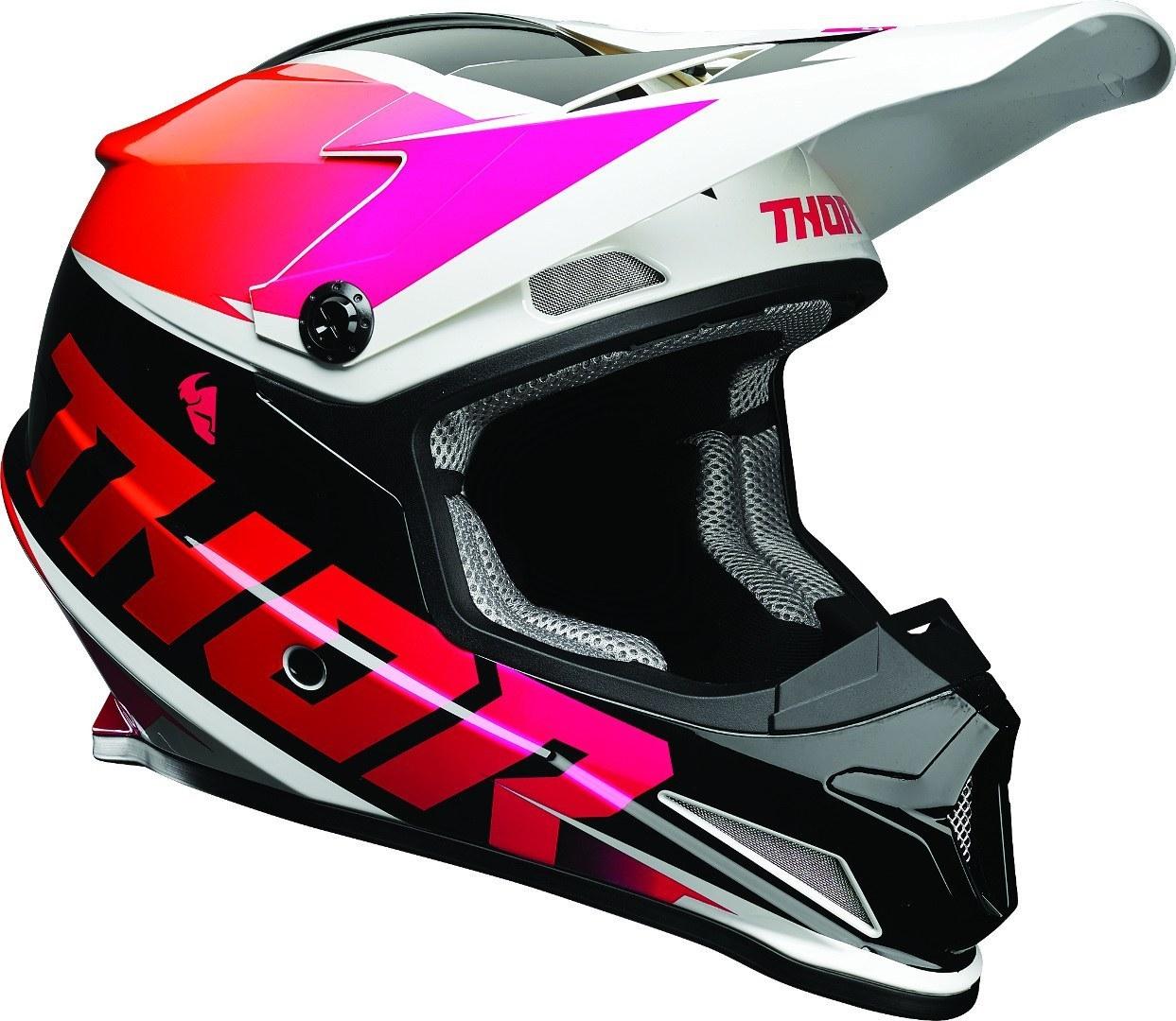 Thor Sector Fader Helmet Image