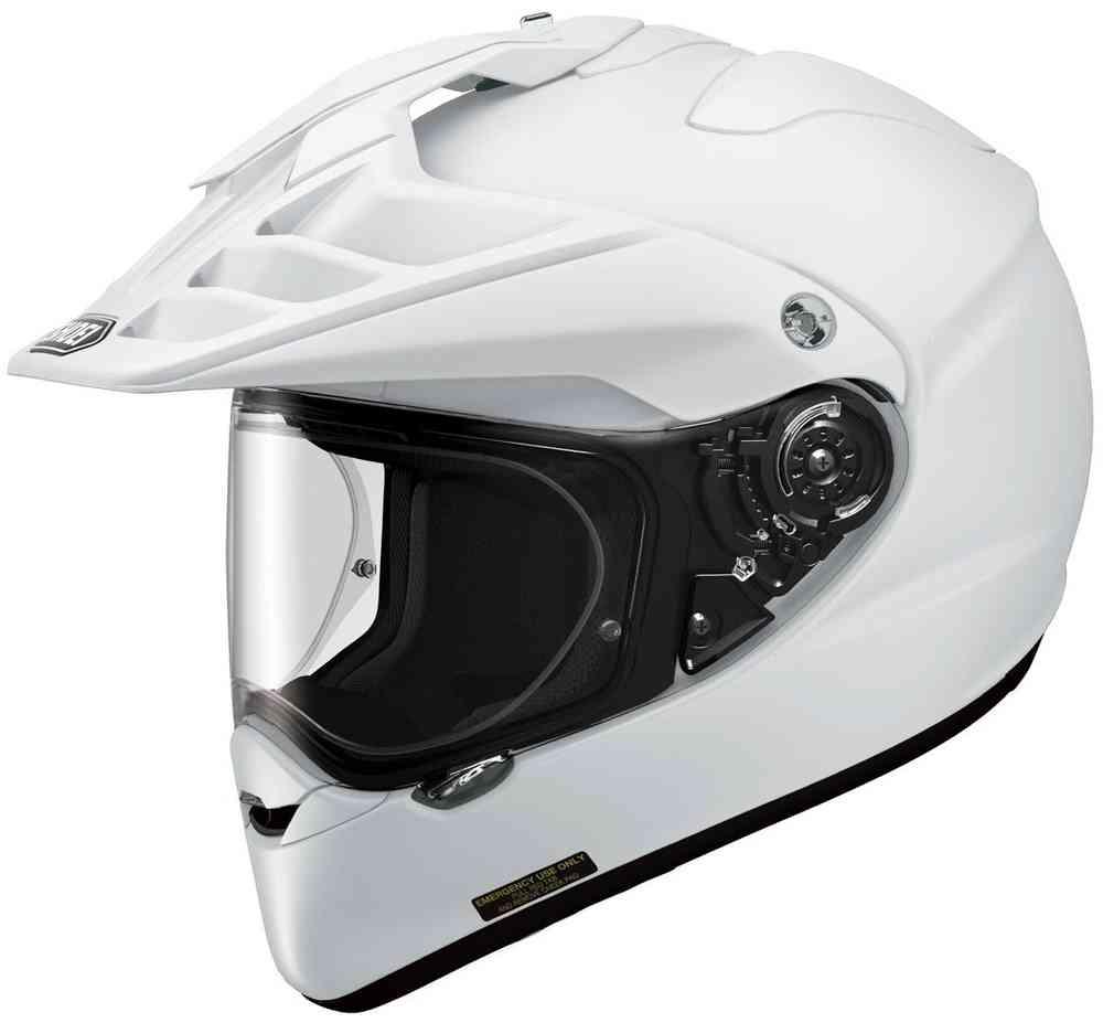 Shoei Hornet Adventure Helmet White Image