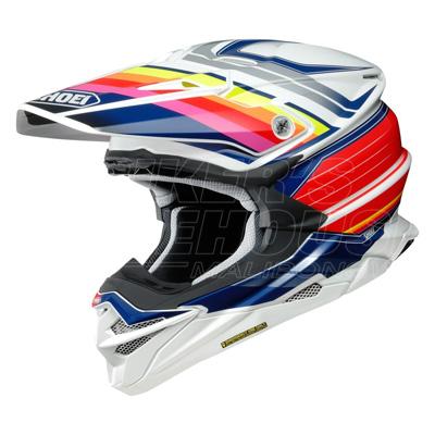 Shoei VFX-WR Pinnacle Motocross Helmet - TC-1 Image